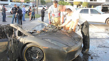 Lamborghini Gallardo burns to a crisp in Florida after engine failure