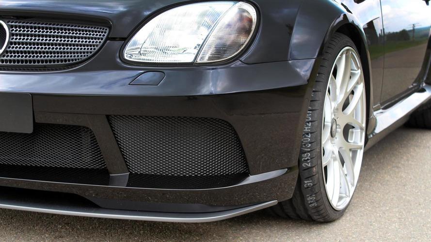 Lumma Tuning freshens up Mercedes-Benz SLK 32 AMG (R170)