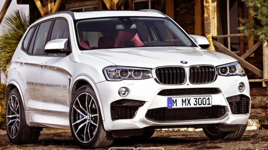Possible BMW X3 M rendered with appealing design