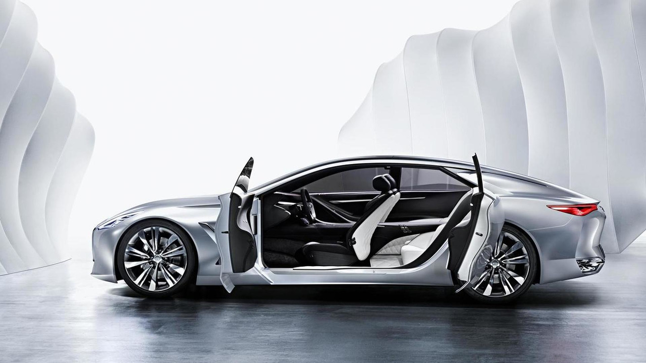 Infiniti infiniti concept car : Infiniti Flagship Sedan Concept Confirmed For Detroit Debut