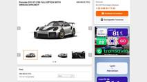 Porsche 911 GT2 RS spéculation