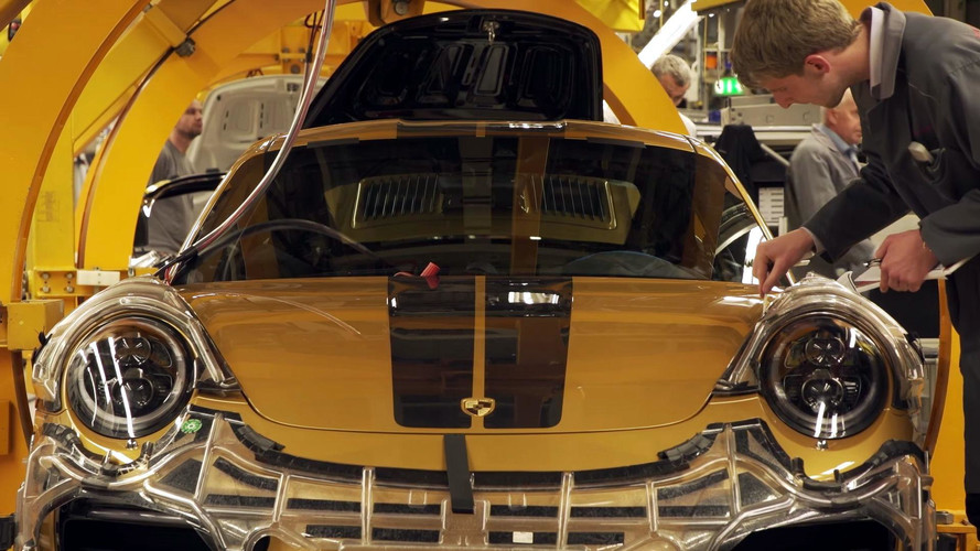 Watch How Porsche Builds The Golden Turbo S Exclusive Series