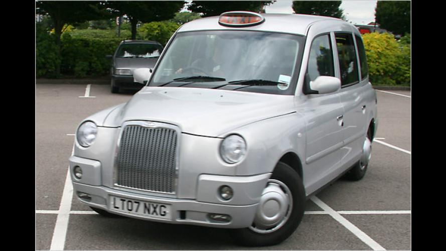 Neuer Stadt-Symbiotiker: Das London-Taxi LTI TX4 im Test