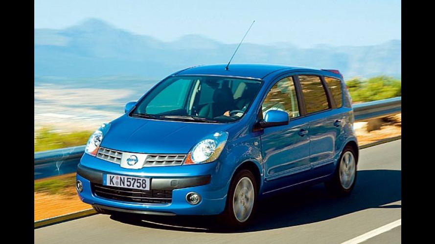 Nissans Zwischen-Note: Halb Kleinwagen, halb Minivan