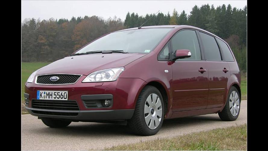 Ford Focus C-Max mit Erdgasantrieb: Fahren für die Hälfte