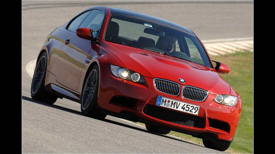 Acht macht mobil: Der neue BMW-Bolide M3 im Test