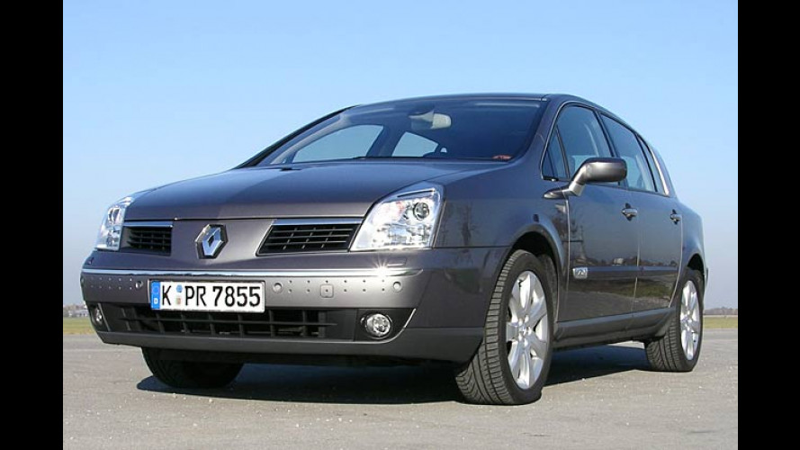 Renault Vel Satis: Neue Dieselmotoren mit mäßigem Durst