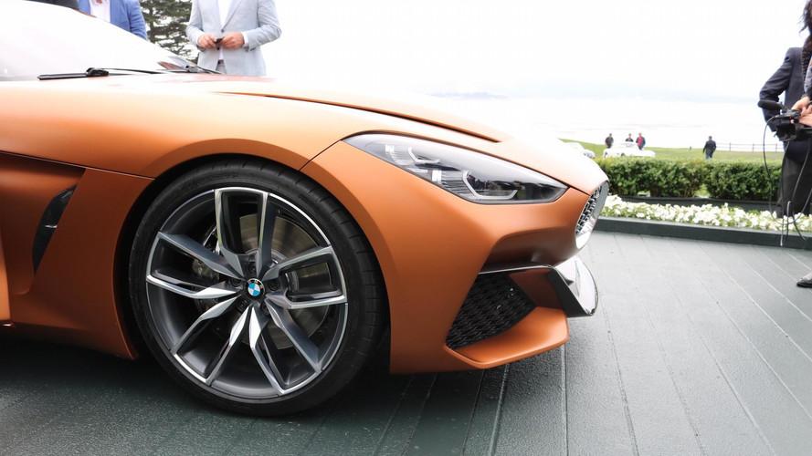 Vadító külsővel érkezett meg a BMW Z4 tanulmány