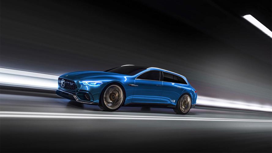 Ce serait bien une Mercedes AMG GT Shooting Brake, non ?