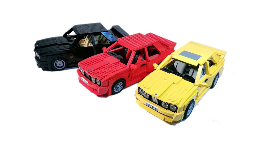 BMW E30 M3 Lego Proposal Revealed