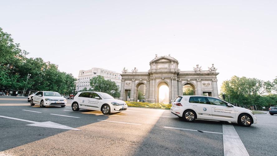 Volkswagen e-Golf, protagonista del e-Mobility Madrid 2017