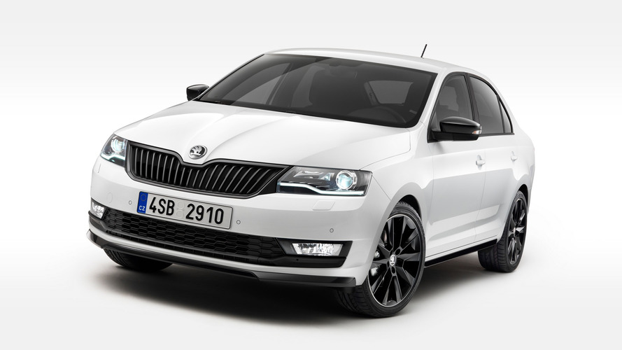 Skoda Rapid facelift revealed with bi-xenon headlights, 1.0 TSI