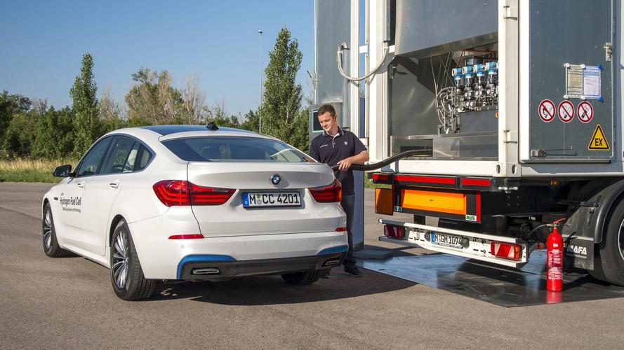 BMW'nin hidrojen yakıtlı aracının gelişimi devam ediyor
