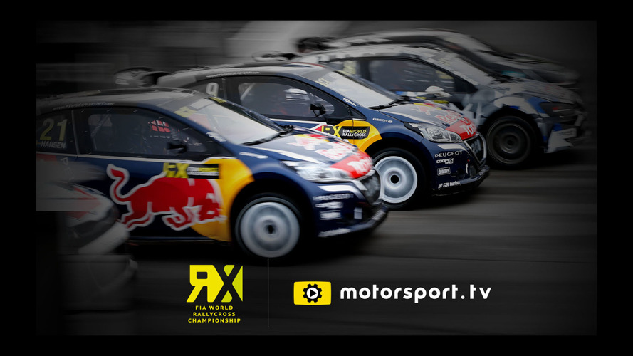 Motorsport.tv To Exclusively Broadcast FIA World Rallycross Championship Live In UK & Ireland