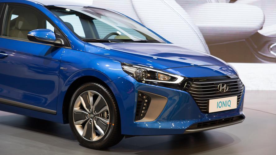 Hyundai Ioniq Hybrid - 2017 İstanbul Autoshow