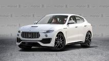 Maserati Levante GTS render