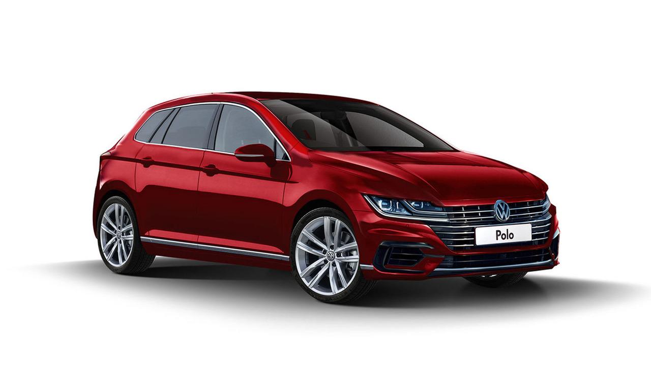 Volkswagen Polo 2018 render