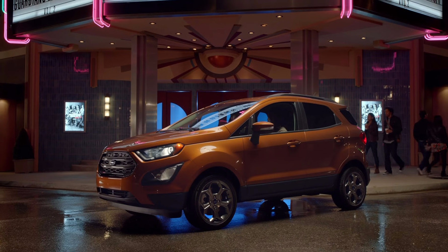Ford EcoSport Guardians Of The Galaxy Promo Stars Baby Groot