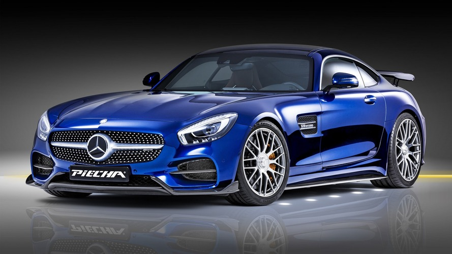 Tuner cranks up Mercedes-AMG GT S to 612 hp