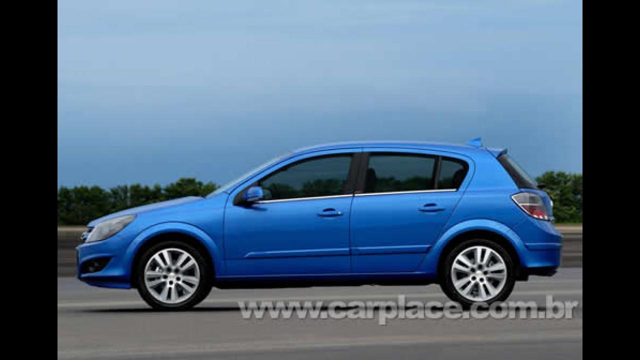 Chevrolet lança o Vectra GT Remix - Mudanças visuais e no motor chegam ao hatch
