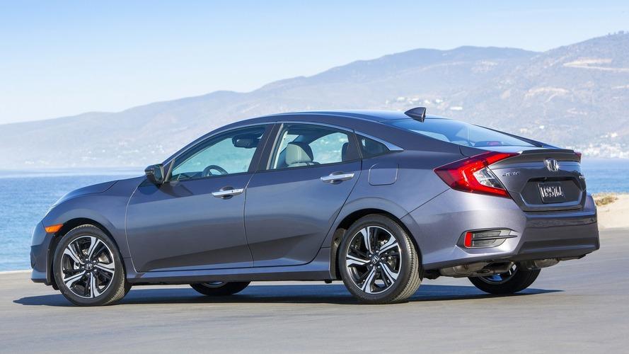 Honda recalling 2016 Civic for malfunctioning electric parking brake
