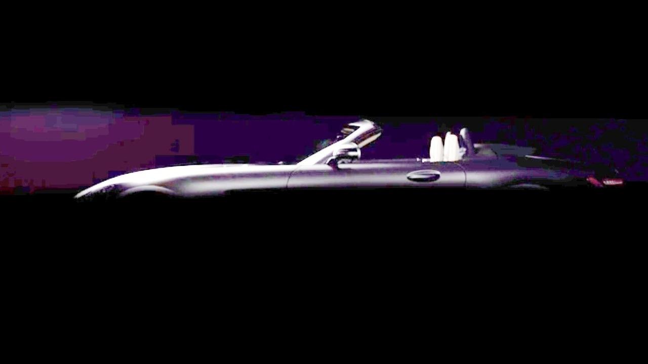 Mercedes-AMG GT C Roadster teaser