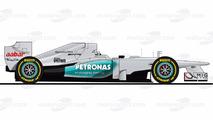 Michael Schumacher'in 20 Formula 1 aracına bakış