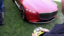 Watch the Mercedes-Maybach Vision 6 being driven remotely