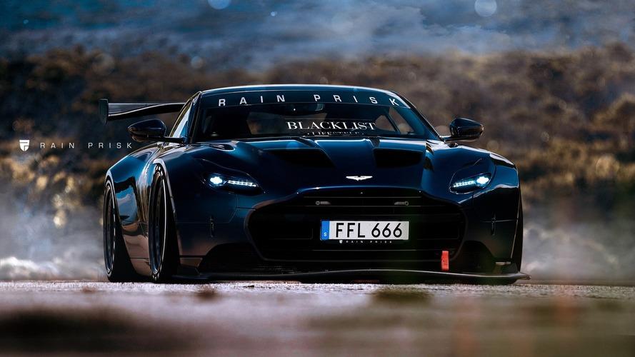 Umarız Aston Martin DB11 yarış aracı bu kadar güzel görünür