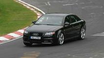 New Audi RS 4 testing at Nurburgring