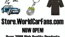WorldCarFans.com launches eStorefront