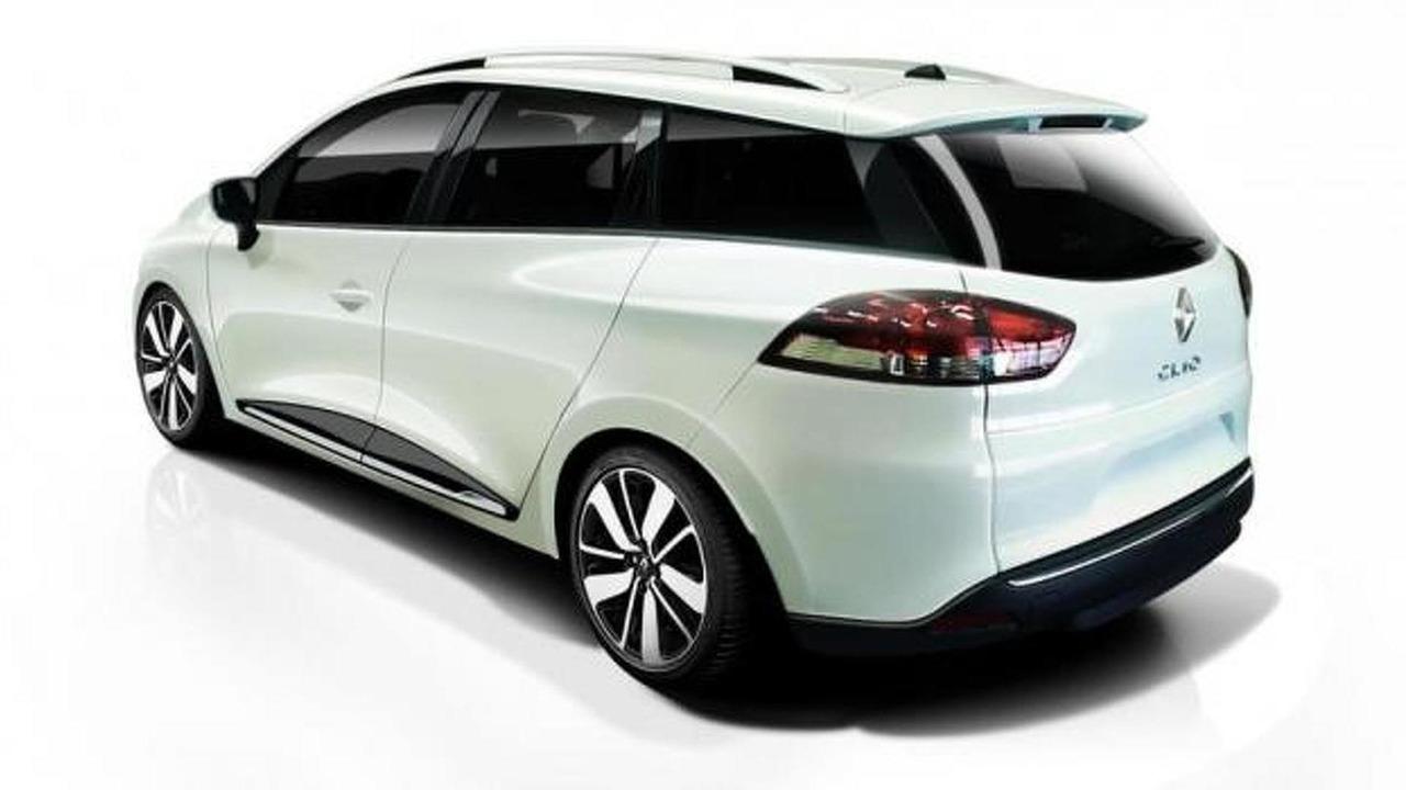 Renault Clio Sports Tourer speculative render
