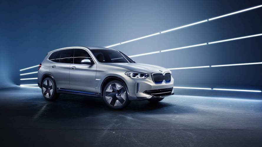 BMW iX3 Concept revealed as all-electric SUV