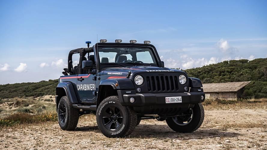 Así es el Jeep Wrangler de los Carabinieri para vigilar las playas