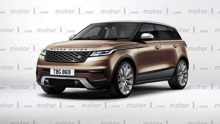 Here's what the new Range Rover Evoque could look like