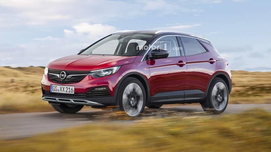 Les futurs SUV d'Opel imaginés avec ces nouveaux rendus