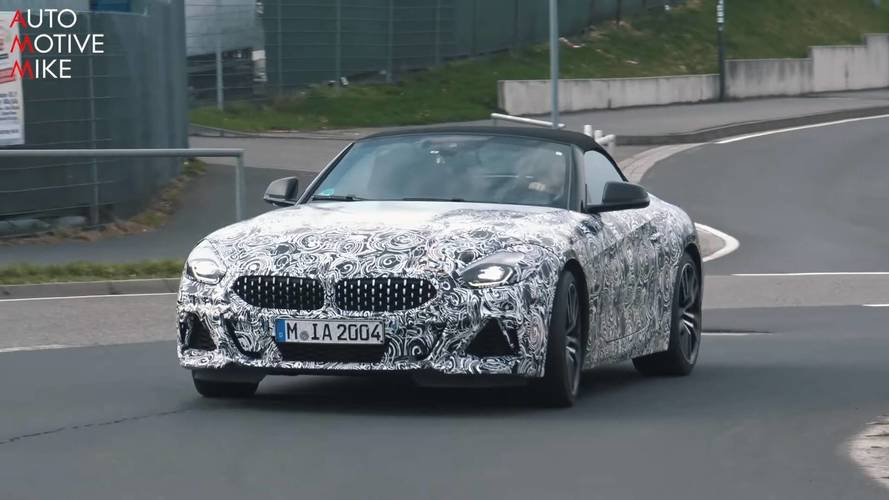 Spend 3 Minutes With The New BMW Z4 At The Nurburgring