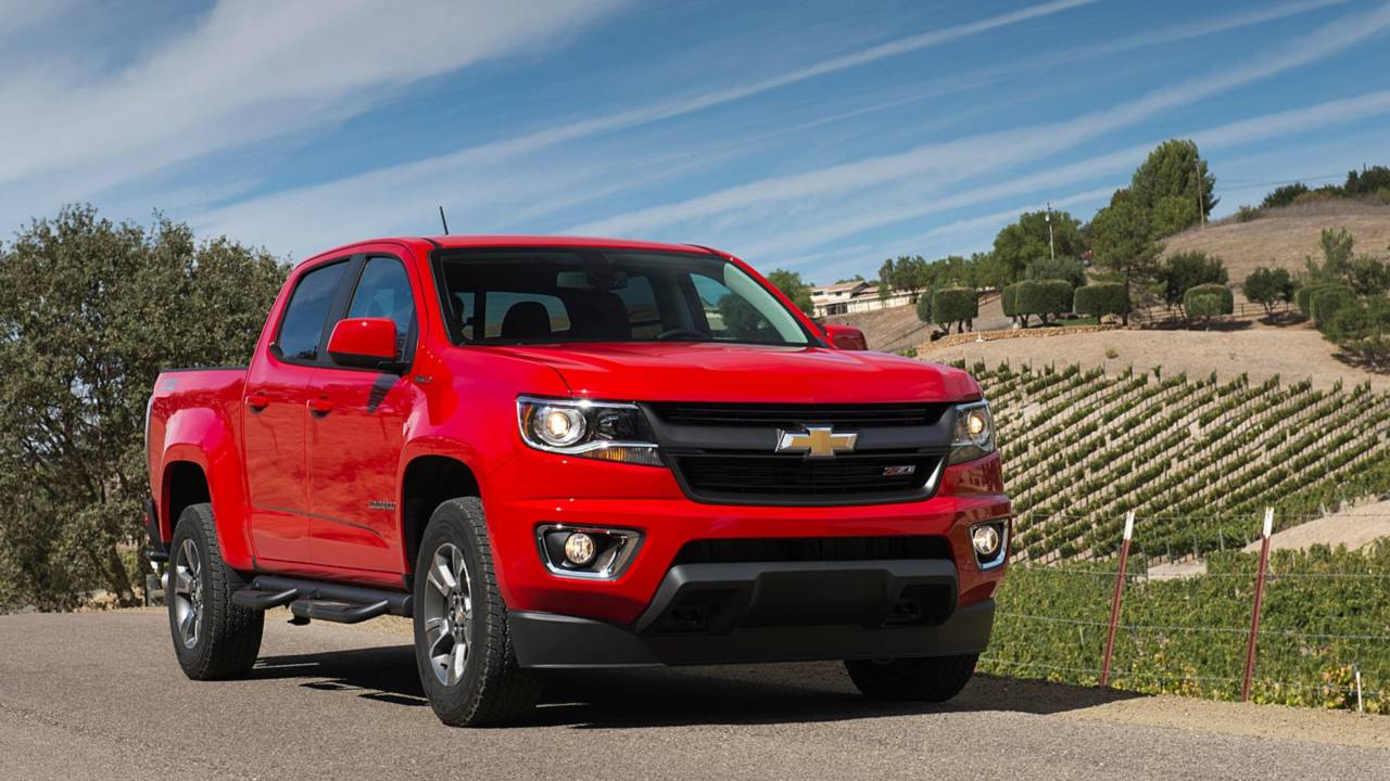 7. Midsize Pickup Truck: Chevrolet Colorado