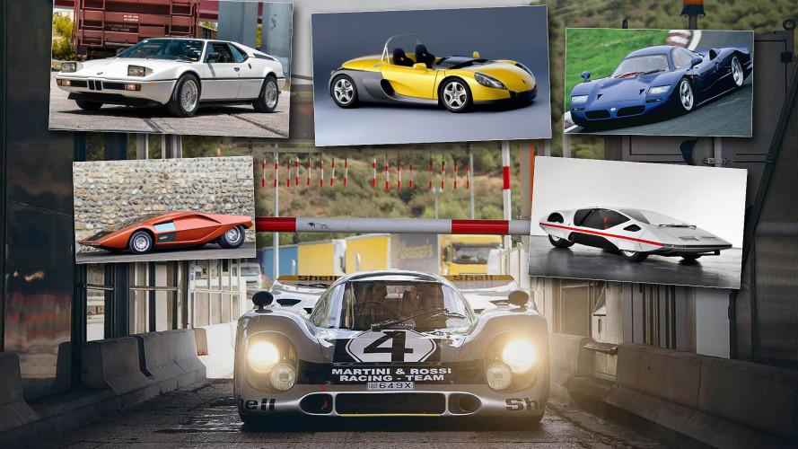 Die flachsten Autos der Welt