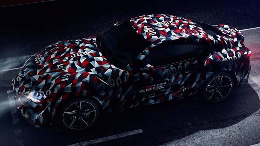 Teaser Toyota Supra 2019, teaser