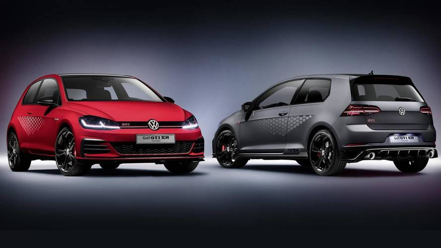 VW Golf GTI TCR Concept é o Golf GTI mais rápido da história