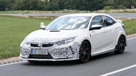 Honda Civic Type R Facelift Spied – But What Is It Hiding?