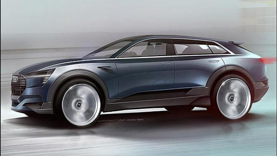 Audi e-tron quattro concept, la futura Q6 elettrica