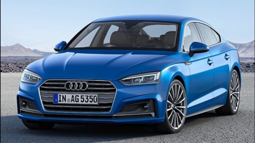 Audi A5 Sportback g-tron, il massimo del metano