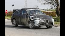 Alfa Romeo Stelvio, le foto spia