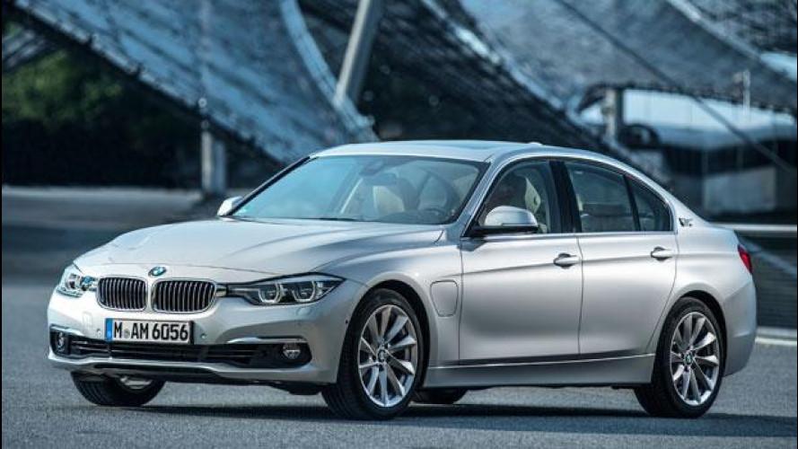 BMW 330e, ecco la Serie 3 ibrida plug-in