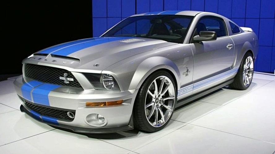 2008 Ford Shelby Mustang GT500KR ups production