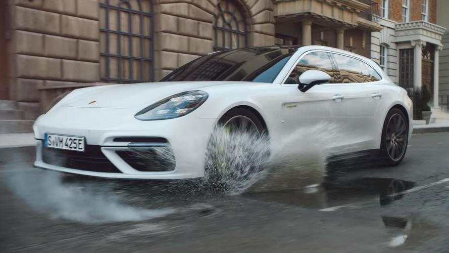 Porsche Panamera Turbo S E-Hybrid Sport Turismo Makes Video Debut