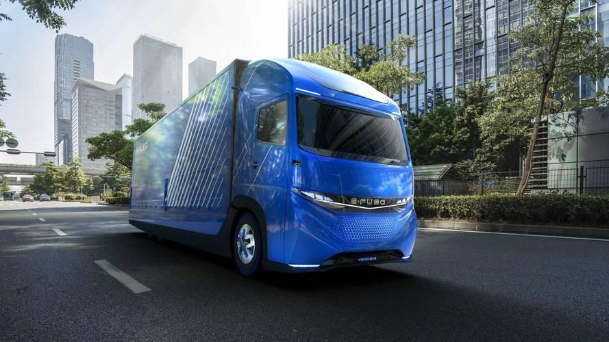 Daimler dévoile son camion électrique