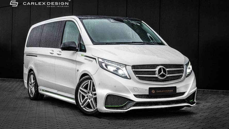 Mercedes Vito By Carlex Gets Sporty Exterior, Luxurious Interior
